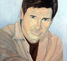 Harrison Ford by John Woodruff