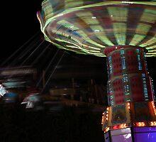 Paris lighted carousel by Sébastien FERRAND