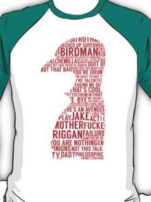 Birdman Quotes  T-Shirt