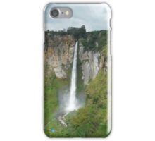 Sipiso-Piso Waterfall, Northern Sumatra iPhone Case/Skin