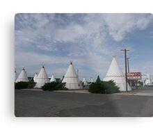 Wigwam Motel on Route 66, Holbrook, USA. Metal Print