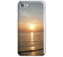 Sunset over the Indian Ocean iPhone Case/Skin