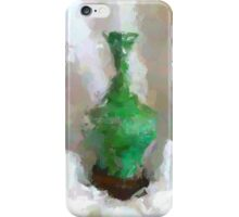 Vase Green 'The Painted Effect' iPhone Case/Skin