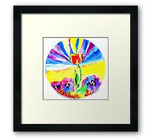 Stand Up, Stand Out, Stand Strong Framed Print