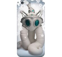Mr Pumfrey and his Astounding Mechanised Perambulator (Winter Version) iPhone Case/Skin