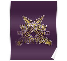Skyrim - Football Jersey - Riften Thieves Poster
