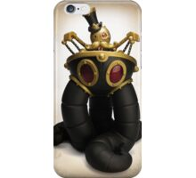Mr Pumfrey and his Astounding Mechanised Perambulator (Autumn Version) iPhone Case/Skin