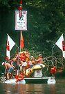 Raft race by Larry  Grayam