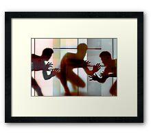 Body Language 13 Framed Print
