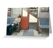 NY Subway Greeting Card