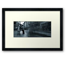Hustle and Bustle Framed Print