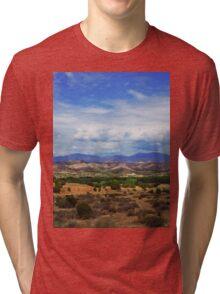 a wonderful Mexico landscape Tri-blend T-Shirt