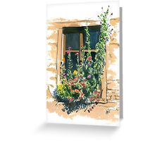 Window #1 Greeting Card