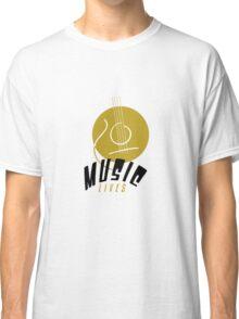 Music Lives Classic T-Shirt