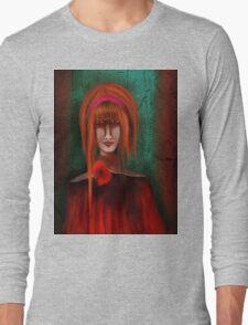 A Redhead Portrait Long Sleeve T-Shirt