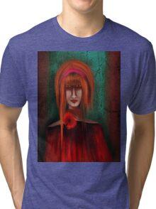 A Redhead Portrait Tri-blend T-Shirt