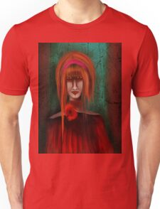 A Redhead Portrait Unisex T-Shirt