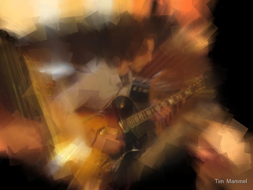 chris playing the guitar by Tim  Mammel