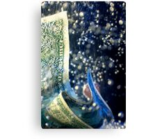 Dollar/Economy - Into the Depths Canvas Print