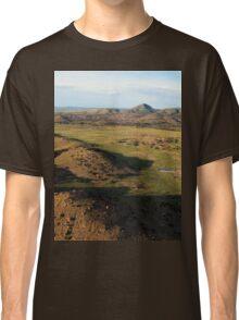 a desolate Mexico landscape Classic T-Shirt