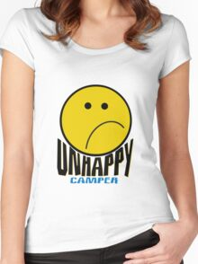 Unhappy Camper Women's Fitted Scoop T-Shirt