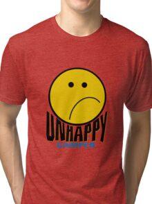 Unhappy Camper Tri-blend T-Shirt