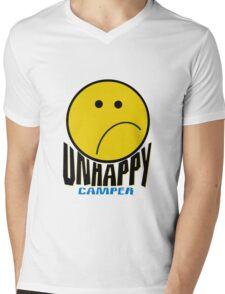 Unhappy Camper Mens V-Neck T-Shirt
