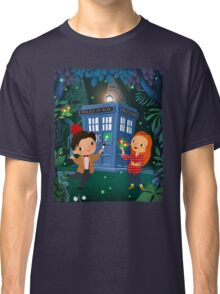 THE DOCTOR IN WHONDERLAND Classic T-Shirt