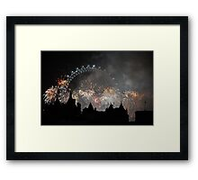 London on New Years Eve Framed Print
