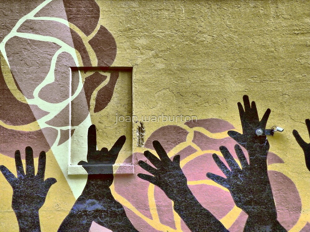Seven Hands by joan warburton