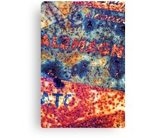 Alemagna - Rusted Abstract Canvas Print