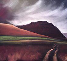 'Ingleborough - the brooding mountain' by Martin Williamson (©cobbybrook)