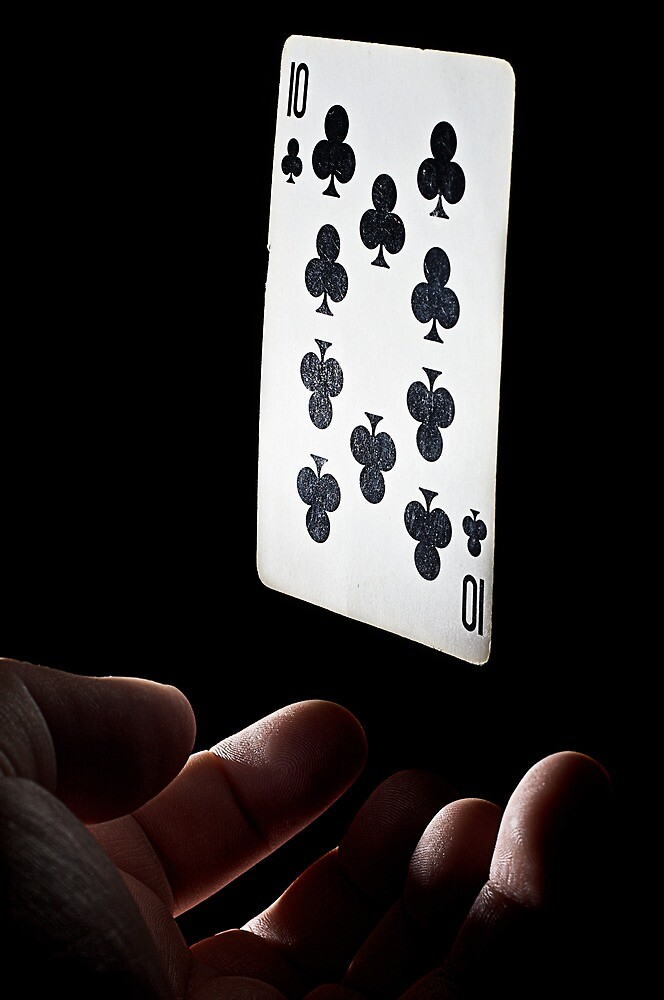 Levitating Card by Jeff Golden