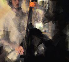 dan on bass by Tim  Mammel