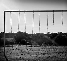 Abandoned Swing Set by Jeff Golden