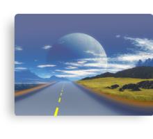 Imaginations Highway Canvas Print