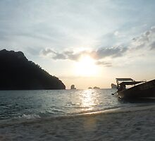 Sunset over the Andaman Sea by Ben Wise-Fowler