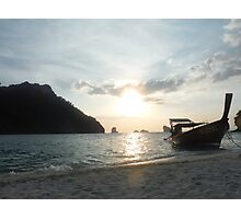 Sunset over the Andaman Sea Photographic Print