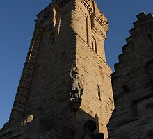Wallace Monument on St. Andrew's Day by Alisdair Gurney