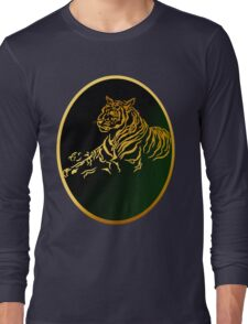 Framed Gold Tiger Long Sleeve T-Shirt