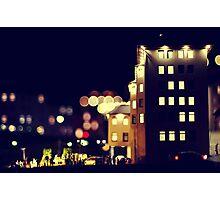 City Lights. Photographic Print