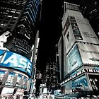 Time Square by night by Sébastien FERRAND