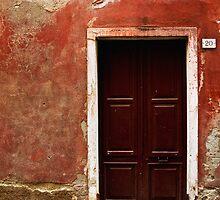 Red Door 20 Monterrosso  by Erin Kanoa