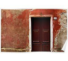 Red Door 20 Monterrosso  Poster