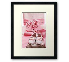 Little miss wedding Framed Print