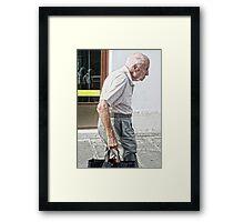 Determination Framed Print