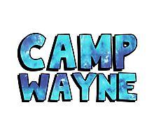 Camp Wayne Blue Galaxy Photographic Print