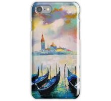 Venice before the rain iPhone Case/Skin