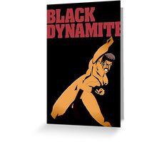 Black Dynamite Greeting Card