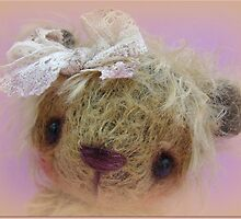 Mandie's portrait - Handmade bears from Teddy Bear Orphans by Penny Bonser